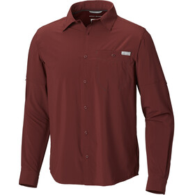 Columbia Triple Canyon Solid - T-shirt manches longues Homme - rouge
